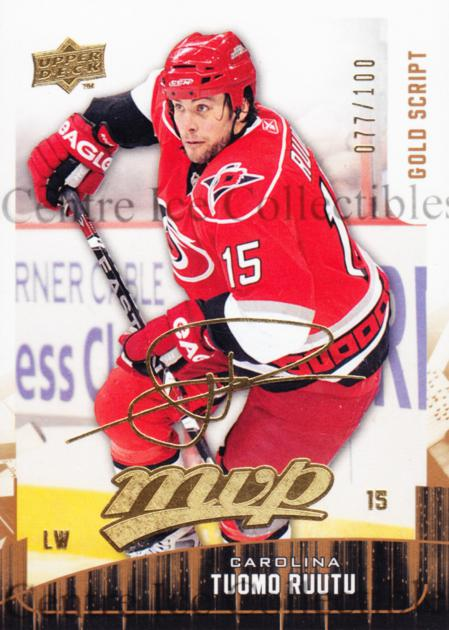 2009-10 Upper Deck MVP Gold Script #240 Tuomo Ruutu<br/>1 In Stock - $5.00 each - <a href=https://centericecollectibles.foxycart.com/cart?name=2009-10%20Upper%20Deck%20MVP%20Gold%20Script%20%23240%20Tuomo%20Ruutu...&quantity_max=1&price=$5.00&code=500448 class=foxycart> Buy it now! </a>