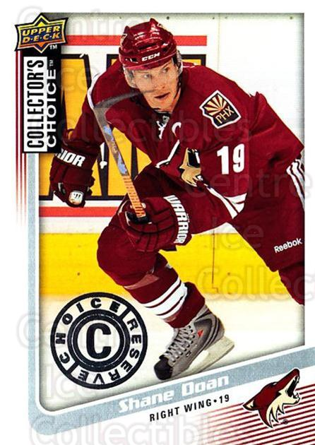 2009-10 Collectors Choice Reserve #33 Shane Doan<br/>2 In Stock - $2.00 each - <a href=https://centericecollectibles.foxycart.com/cart?name=2009-10%20Collectors%20Choice%20Reserve%20%2333%20Shane%20Doan...&quantity_max=2&price=$2.00&code=500635 class=foxycart> Buy it now! </a>