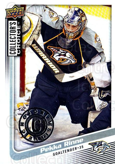 2009-10 Collectors Choice Reserve #66 Pekka Rinne<br/>2 In Stock - $2.00 each - <a href=https://centericecollectibles.foxycart.com/cart?name=2009-10%20Collectors%20Choice%20Reserve%20%2366%20Pekka%20Rinne...&quantity_max=2&price=$2.00&code=500668 class=foxycart> Buy it now! </a>
