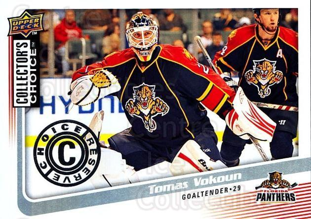 2009-10 Collectors Choice Reserve #90 Tomas Vokoun<br/>1 In Stock - $2.00 each - <a href=https://centericecollectibles.foxycart.com/cart?name=2009-10%20Collectors%20Choice%20Reserve%20%2390%20Tomas%20Vokoun...&quantity_max=1&price=$2.00&code=500692 class=foxycart> Buy it now! </a>