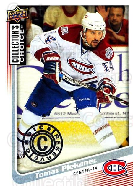 2009-10 Collectors Choice Reserve #114 Tomas Plekanec<br/>3 In Stock - $2.00 each - <a href=https://centericecollectibles.foxycart.com/cart?name=2009-10%20Collectors%20Choice%20Reserve%20%23114%20Tomas%20Plekanec...&quantity_max=3&price=$2.00&code=500716 class=foxycart> Buy it now! </a>
