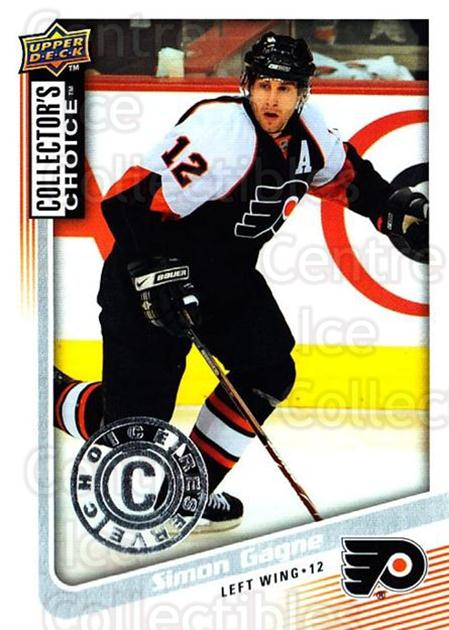 2009-10 Collectors Choice Reserve #135 Simon Gagne<br/>3 In Stock - $2.00 each - <a href=https://centericecollectibles.foxycart.com/cart?name=2009-10%20Collectors%20Choice%20Reserve%20%23135%20Simon%20Gagne...&quantity_max=3&price=$2.00&code=500737 class=foxycart> Buy it now! </a>