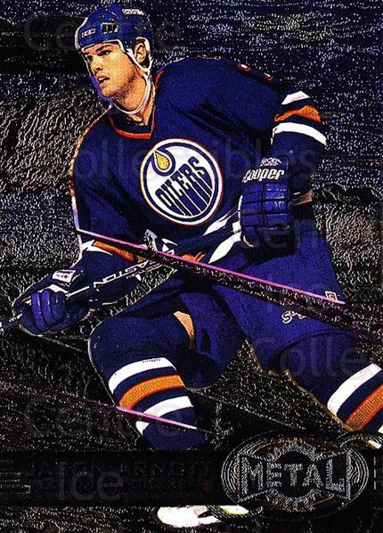 1996-97 Metal Universe #52 Jason Arnott<br/>2 In Stock - $1.00 each - <a href=https://centericecollectibles.foxycart.com/cart?name=1996-97%20Metal%20Universe%20%2352%20Jason%20Arnott...&quantity_max=2&price=$1.00&code=50108 class=foxycart> Buy it now! </a>