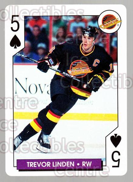 1996-97 NHL Aces Playing Card #44 Trevor Linden<br/>5 In Stock - $2.00 each - <a href=https://centericecollectibles.foxycart.com/cart?name=1996-97%20NHL%20Aces%20Playing%20Card%20%2344%20Trevor%20Linden...&quantity_max=5&price=$2.00&code=50141 class=foxycart> Buy it now! </a>