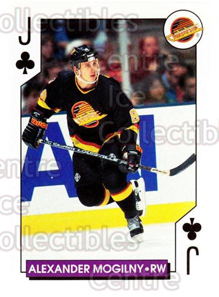 1996-97 NHL Aces Playing Card #24 Alexander Mogilny<br/>4 In Stock - $2.00 each - <a href=https://centericecollectibles.foxycart.com/cart?name=1996-97%20NHL%20Aces%20Playing%20Card%20%2324%20Alexander%20Mogil...&quantity_max=4&price=$2.00&code=50145 class=foxycart> Buy it now! </a>