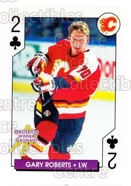 1996-97 NHL Aces Playing Card #15 Gary Roberts<br/>5 In Stock - $2.00 each - <a href=https://centericecollectibles.foxycart.com/cart?name=1996-97%20NHL%20Aces%20Playing%20Card%20%2315%20Gary%20Roberts...&quantity_max=5&price=$2.00&code=50150 class=foxycart> Buy it now! </a>