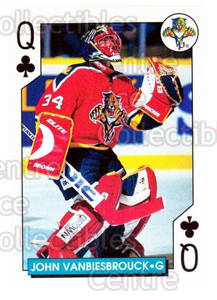 1996-97 NHL Aces Playing Card #25 John Vanbiesbrouck<br/>4 In Stock - $2.00 each - <a href=https://centericecollectibles.foxycart.com/cart?name=1996-97%20NHL%20Aces%20Playing%20Card%20%2325%20John%20Vanbiesbro...&quantity_max=4&price=$2.00&code=50158 class=foxycart> Buy it now! </a>