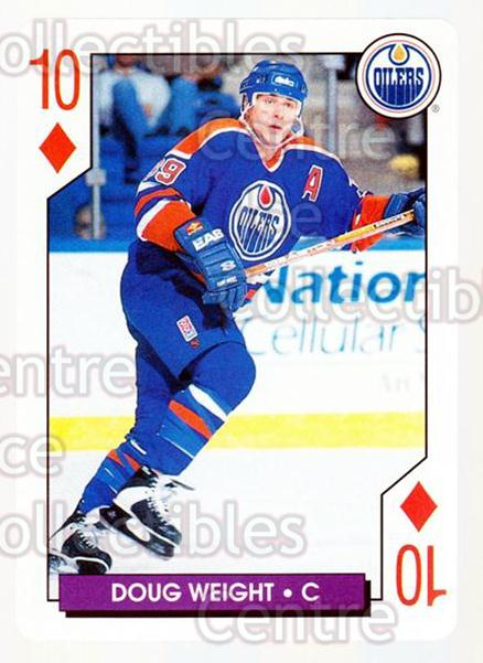 1996-97 NHL Aces Playing Card #36 Doug Weight<br/>5 In Stock - $2.00 each - <a href=https://centericecollectibles.foxycart.com/cart?name=1996-97%20NHL%20Aces%20Playing%20Card%20%2336%20Doug%20Weight...&quantity_max=5&price=$2.00&code=50159 class=foxycart> Buy it now! </a>