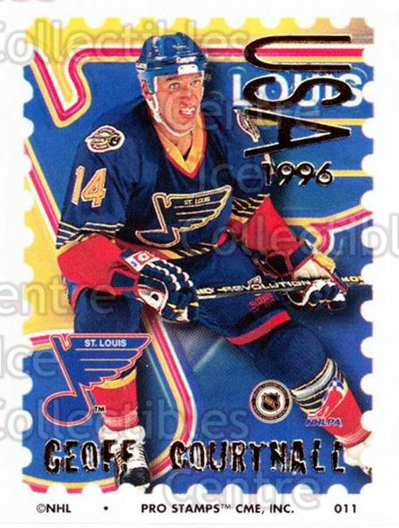 1996-97 NHL Pro Stamps #11 Geoff Courtnall<br/>34 In Stock - $2.00 each - <a href=https://centericecollectibles.foxycart.com/cart?name=1996-97%20NHL%20Pro%20Stamps%20%2311%20Geoff%20Courtnall...&quantity_max=34&price=$2.00&code=50176 class=foxycart> Buy it now! </a>