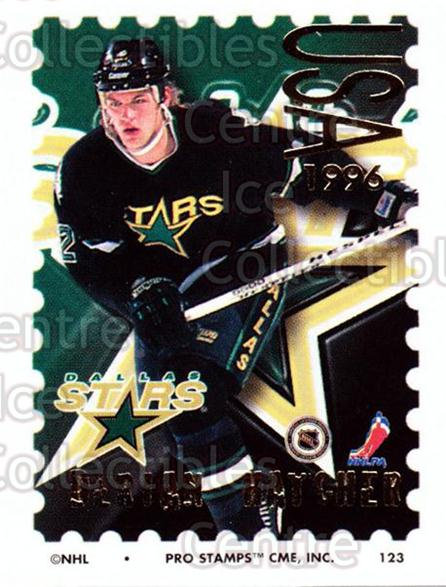 1996-97 NHL Pro Stamps #123 Derian Hatcher<br/>34 In Stock - $2.00 each - <a href=https://centericecollectibles.foxycart.com/cart?name=1996-97%20NHL%20Pro%20Stamps%20%23123%20Derian%20Hatcher...&quantity_max=34&price=$2.00&code=50190 class=foxycart> Buy it now! </a>