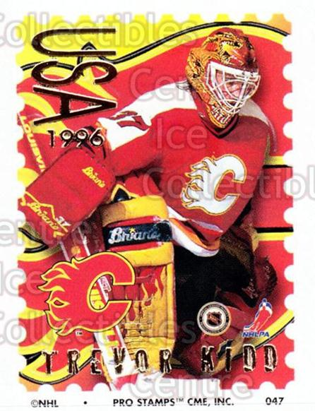 1996-97 NHL Pro Stamps #47 Trevor Kidd<br/>30 In Stock - $2.00 each - <a href=https://centericecollectibles.foxycart.com/cart?name=1996-97%20NHL%20Pro%20Stamps%20%2347%20Trevor%20Kidd...&quantity_max=30&price=$2.00&code=50231 class=foxycart> Buy it now! </a>