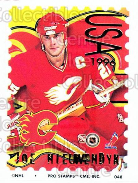 1996-97 NHL Pro Stamps #48 Joe Nieuwendyk<br/>32 In Stock - $2.00 each - <a href=https://centericecollectibles.foxycart.com/cart?name=1996-97%20NHL%20Pro%20Stamps%20%2348%20Joe%20Nieuwendyk...&quantity_max=32&price=$2.00&code=50232 class=foxycart> Buy it now! </a>