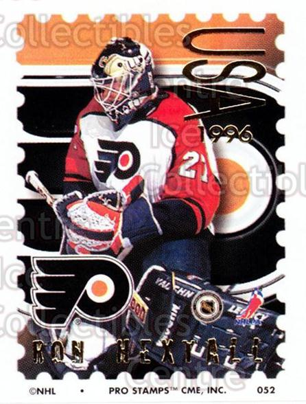 1996-97 NHL Pro Stamps #52 Ron Hextall<br/>21 In Stock - $2.00 each - <a href=https://centericecollectibles.foxycart.com/cart?name=1996-97%20NHL%20Pro%20Stamps%20%2352%20Ron%20Hextall...&quantity_max=21&price=$2.00&code=50236 class=foxycart> Buy it now! </a>