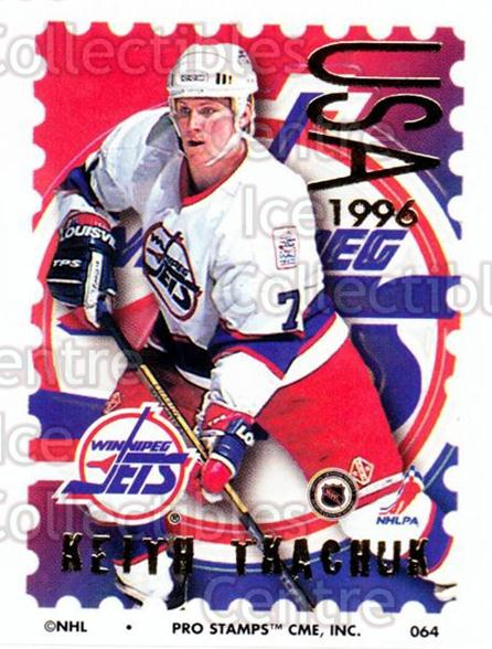 1996-97 NHL Pro Stamps #64 Keith Tkachuk<br/>30 In Stock - $2.00 each - <a href=https://centericecollectibles.foxycart.com/cart?name=1996-97%20NHL%20Pro%20Stamps%20%2364%20Keith%20Tkachuk...&quantity_max=30&price=$2.00&code=50248 class=foxycart> Buy it now! </a>