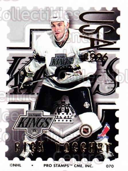1996-97 NHL Pro Stamps #70 Rick Tocchet<br/>31 In Stock - $2.00 each - <a href=https://centericecollectibles.foxycart.com/cart?name=1996-97%20NHL%20Pro%20Stamps%20%2370%20Rick%20Tocchet...&quantity_max=31&price=$2.00&code=50254 class=foxycart> Buy it now! </a>