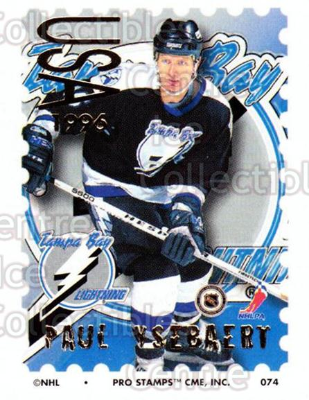 1996-97 NHL Pro Stamps #74 Paul Ysebaert<br/>34 In Stock - $2.00 each - <a href=https://centericecollectibles.foxycart.com/cart?name=1996-97%20NHL%20Pro%20Stamps%20%2374%20Paul%20Ysebaert...&quantity_max=34&price=$2.00&code=50258 class=foxycart> Buy it now! </a>