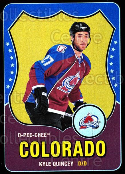 2010-11 O-Pee-Chee Retro Black Rainbow #323 Kyle Quincey<br/>1 In Stock - $5.00 each - <a href=https://centericecollectibles.foxycart.com/cart?name=2010-11%20O-Pee-Chee%20Retro%20Black%20Rainbow%20%23323%20Kyle%20Quincey...&quantity_max=1&price=$5.00&code=502660 class=foxycart> Buy it now! </a>
