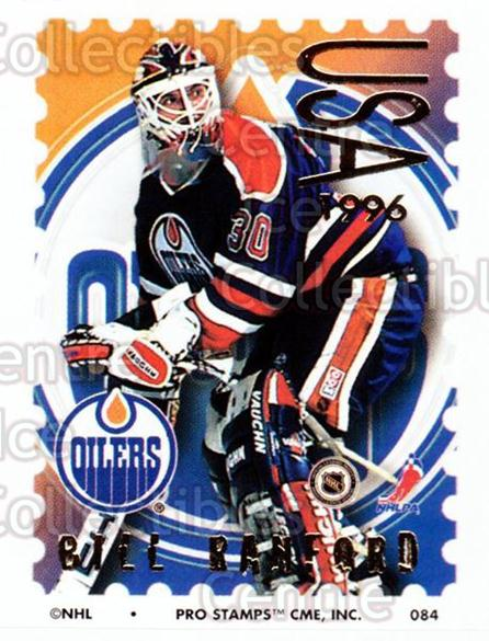 1996-97 NHL Pro Stamps #84 Bill Ranford<br/>29 In Stock - $2.00 each - <a href=https://centericecollectibles.foxycart.com/cart?name=1996-97%20NHL%20Pro%20Stamps%20%2384%20Bill%20Ranford...&quantity_max=29&price=$2.00&code=50269 class=foxycart> Buy it now! </a>