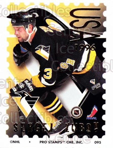1996-97 NHL Pro Stamps #95 Sergei Zubov<br/>31 In Stock - $2.00 each - <a href=https://centericecollectibles.foxycart.com/cart?name=1996-97%20NHL%20Pro%20Stamps%20%2395%20Sergei%20Zubov...&quantity_max=31&price=$2.00&code=50279 class=foxycart> Buy it now! </a>