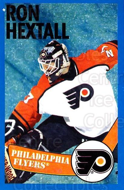 1996-97 Panini Stickers #113 Ron Hextall<br/>3 In Stock - $1.00 each - <a href=https://centericecollectibles.foxycart.com/cart?name=1996-97%20Panini%20Stickers%20%23113%20Ron%20Hextall...&quantity_max=3&price=$1.00&code=50300 class=foxycart> Buy it now! </a>