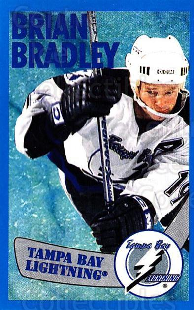1996-97 Panini Stickers #122 Brian Bradley<br/>6 In Stock - $1.00 each - <a href=https://centericecollectibles.foxycart.com/cart?name=1996-97%20Panini%20Stickers%20%23122%20Brian%20Bradley...&quantity_max=6&price=$1.00&code=50310 class=foxycart> Buy it now! </a>
