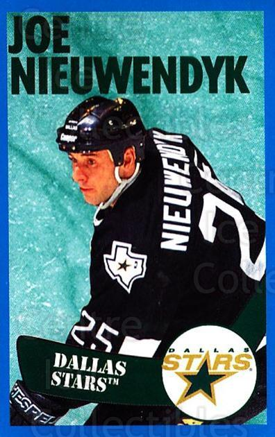 1996-97 Panini Stickers #169 Joe Nieuwendyk<br/>5 In Stock - $1.00 each - <a href=https://centericecollectibles.foxycart.com/cart?name=1996-97%20Panini%20Stickers%20%23169%20Joe%20Nieuwendyk...&quantity_max=5&price=$1.00&code=50358 class=foxycart> Buy it now! </a>