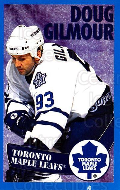 1996-97 Panini Stickers #214 Doug Gilmour<br/>3 In Stock - $1.00 each - <a href=https://centericecollectibles.foxycart.com/cart?name=1996-97%20Panini%20Stickers%20%23214%20Doug%20Gilmour...&quantity_max=3&price=$1.00&code=50404 class=foxycart> Buy it now! </a>