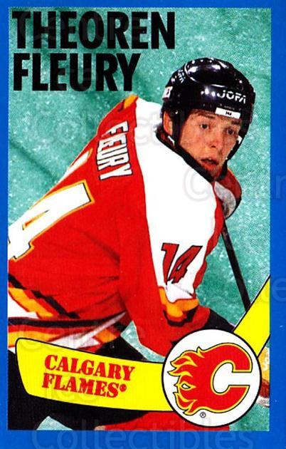 1996-97 Panini Stickers #234 Theo Fleury<br/>3 In Stock - $1.00 each - <a href=https://centericecollectibles.foxycart.com/cart?name=1996-97%20Panini%20Stickers%20%23234%20Theo%20Fleury...&quantity_max=3&price=$1.00&code=50425 class=foxycart> Buy it now! </a>