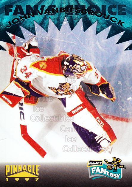 1996-97 Pinnacle Fantasy #9 John Vanbiesbrouck<br/>8 In Stock - $2.00 each - <a href=https://centericecollectibles.foxycart.com/cart?name=1996-97%20Pinnacle%20Fantasy%20%239%20John%20Vanbiesbro...&quantity_max=8&price=$2.00&code=50486 class=foxycart> Buy it now! </a>