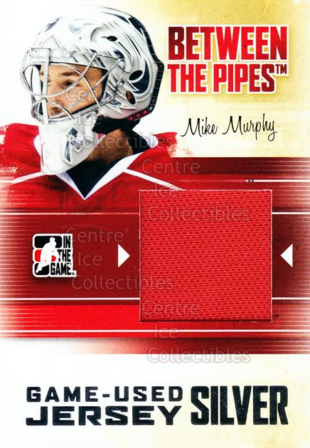 2010-11 Between The Pipes Jersey Silver #43 Mike Murphy<br/>2 In Stock - $10.00 each - <a href=https://centericecollectibles.foxycart.com/cart?name=2010-11%20Between%20The%20Pipes%20Jersey%20Silver%20%2343%20Mike%20Murphy...&price=$10.00&code=506197 class=foxycart> Buy it now! </a>