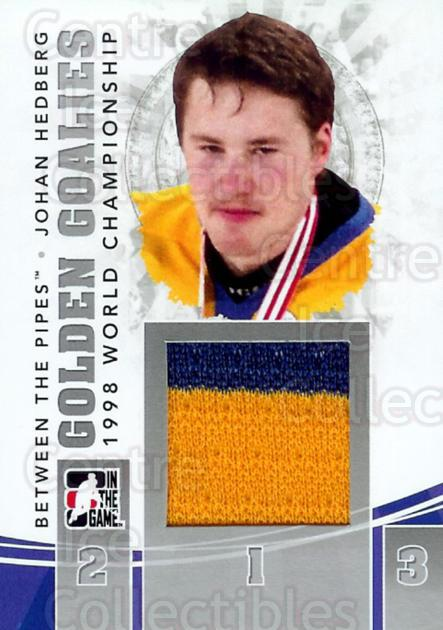 2010-11 Between The Pipes Golden Goalies Jersey Silver #24 Johan Hedberg<br/>1 In Stock - $10.00 each - <a href=https://centericecollectibles.foxycart.com/cart?name=2010-11%20Between%20The%20Pipes%20Golden%20Goalies%20Jersey%20Silver%20%2324%20Johan%20Hedberg...&quantity_max=1&price=$10.00&code=506440 class=foxycart> Buy it now! </a>