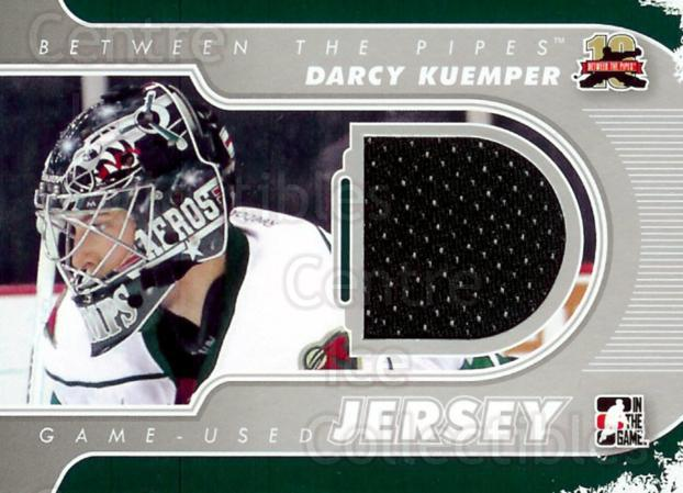 2011-12 Between The Pipes Jersey Silver #45 Darcy Kuemper<br/>1 In Stock - $5.00 each - <a href=https://centericecollectibles.foxycart.com/cart?name=2011-12%20Between%20The%20Pipes%20Jersey%20Silver%20%2345%20Darcy%20Kuemper...&price=$5.00&code=506650 class=foxycart> Buy it now! </a>