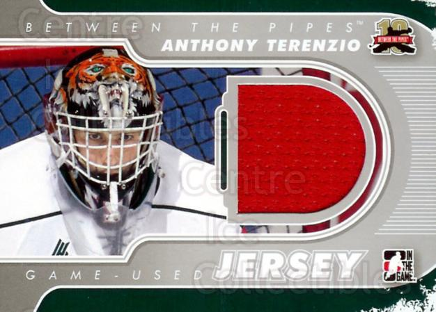 2011-12 Between The Pipes Jersey Silver #60 Anthony Terenzio<br/>2 In Stock - $5.00 each - <a href=https://centericecollectibles.foxycart.com/cart?name=2011-12%20Between%20The%20Pipes%20Jersey%20Silver%20%2360%20Anthony%20Terenzi...&quantity_max=2&price=$5.00&code=506665 class=foxycart> Buy it now! </a>