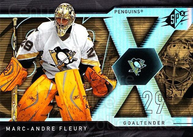 2007-08 SPx #97 Marc-Andre Fleury<br/>2 In Stock - $2.00 each - <a href=https://centericecollectibles.foxycart.com/cart?name=2007-08%20SPx%20%2397%20Marc-Andre%20Fleu...&quantity_max=2&price=$2.00&code=506729 class=foxycart> Buy it now! </a>