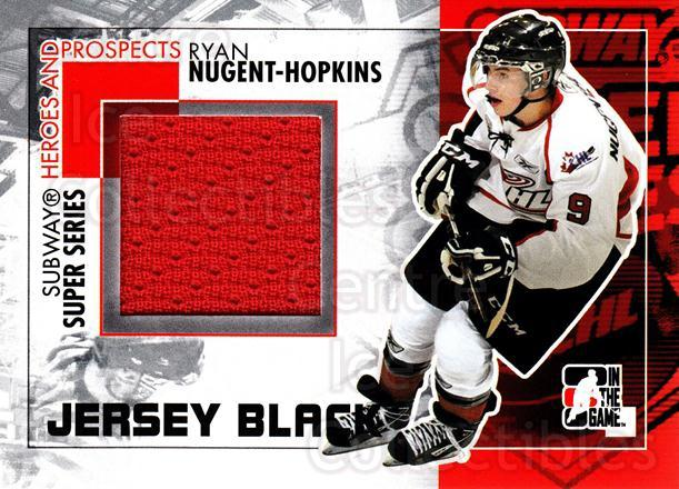 2010-11 ITG Heroes and Prospects Subway Jersey Black #26 Ryan Nugent-Hopkins<br/>1 In Stock - $10.00 each - <a href=https://centericecollectibles.foxycart.com/cart?name=2010-11%20ITG%20Heroes%20and%20Prospects%20Subway%20Jersey%20Black%20%2326%20Ryan%20Nugent-Hop...&price=$10.00&code=507012 class=foxycart> Buy it now! </a>