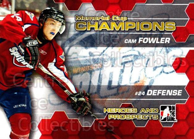 2010-11 ITG Heroes and Prospects Memorial Cup Champions #5 Cam Fowler<br/>1 In Stock - $5.00 each - <a href=https://centericecollectibles.foxycart.com/cart?name=2010-11%20ITG%20Heroes%20and%20Prospects%20Memorial%20Cup%20Champions%20%235%20Cam%20Fowler...&price=$5.00&code=507127 class=foxycart> Buy it now! </a>
