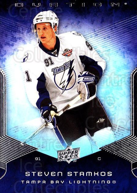 2008-09 UD Ovation #193 Steven Stamkos<br/>1 In Stock - $10.00 each - <a href=https://centericecollectibles.foxycart.com/cart?name=2008-09%20UD%20Ovation%20%23193%20Steven%20Stamkos...&quantity_max=1&price=$10.00&code=507215 class=foxycart> Buy it now! </a>
