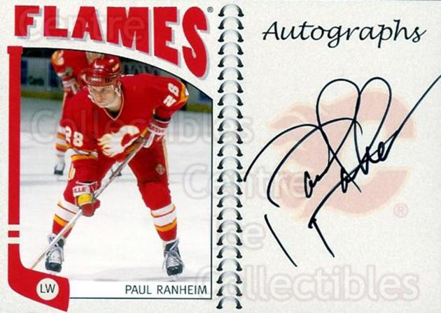 2004-05 ITG Franchises Canadian Auto #PRA Paul Ranheim<br/>18 In Stock - $10.00 each - <a href=https://centericecollectibles.foxycart.com/cart?name=2004-05%20ITG%20Franchises%20Canadian%20Auto%20%23PRA%20Paul%20Ranheim...&quantity_max=18&price=$10.00&code=507667 class=foxycart> Buy it now! </a>