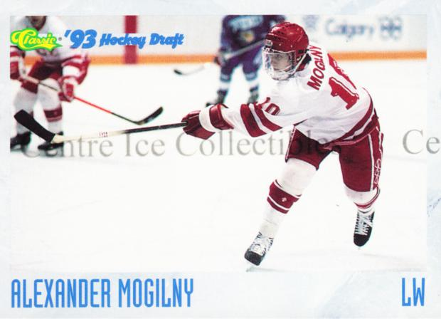 1993 Classic Hockey Draft Crash Numbered #7 Alexander Mogilny<br/>2 In Stock - $3.00 each - <a href=https://centericecollectibles.foxycart.com/cart?name=1993%20Classic%20Hockey%20Draft%20Crash%20Numbered%20%237%20Alexander%20Mogil...&quantity_max=2&price=$3.00&code=507 class=foxycart> Buy it now! </a>