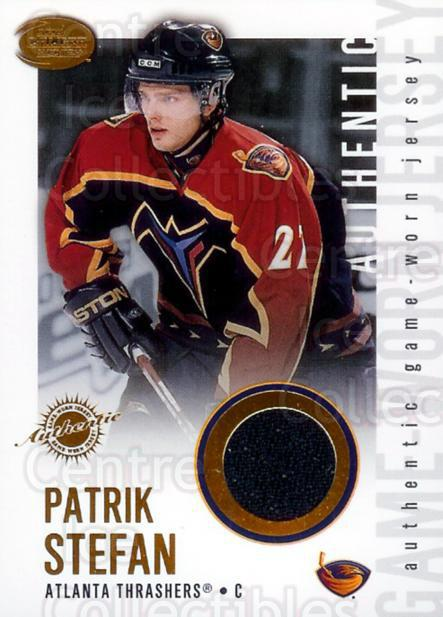 2002-03 Pacific Calder Jersey #2 Patrik Stefan<br/>1 In Stock - $5.00 each - <a href=https://centericecollectibles.foxycart.com/cart?name=2002-03%20Pacific%20Calder%20Jersey%20%232%20Patrik%20Stefan...&quantity_max=1&price=$5.00&code=508766 class=foxycart> Buy it now! </a>