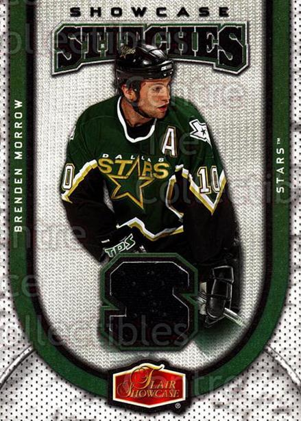 2006-07 Flair Showcase Stitches #SSBM Brenden Morrow<br/>1 In Stock - $5.00 each - <a href=https://centericecollectibles.foxycart.com/cart?name=2006-07%20Flair%20Showcase%20Stitches%20%23SSBM%20Brenden%20Morrow...&quantity_max=1&price=$5.00&code=509282 class=foxycart> Buy it now! </a>