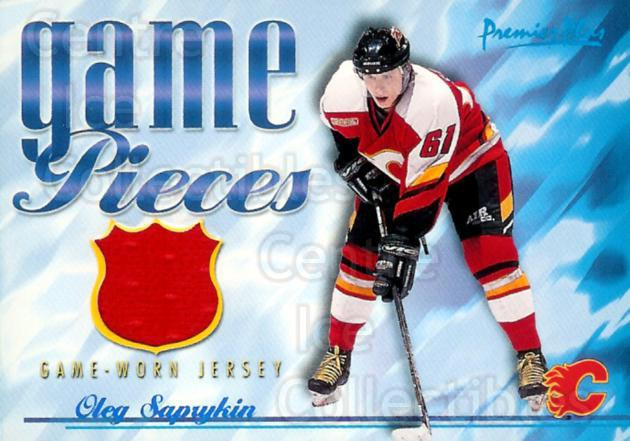 2000-01 Topps Premier Plus Game Pieces #GPOS Oleg Saprykin<br/>1 In Stock - $5.00 each - <a href=https://centericecollectibles.foxycart.com/cart?name=2000-01%20Topps%20Premier%20Plus%20Game%20Pieces%20%23GPOS%20Oleg%20Saprykin...&quantity_max=1&price=$5.00&code=509395 class=foxycart> Buy it now! </a>