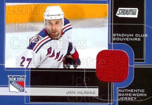 2001-02 Stadium Club Souvenirs #SCSJHL Jan Hlavac<br/>1 In Stock - $5.00 each - <a href=https://centericecollectibles.foxycart.com/cart?name=2001-02%20Stadium%20Club%20Souvenirs%20%23SCSJHL%20Jan%20Hlavac...&quantity_max=1&price=$5.00&code=509439 class=foxycart> Buy it now! </a>