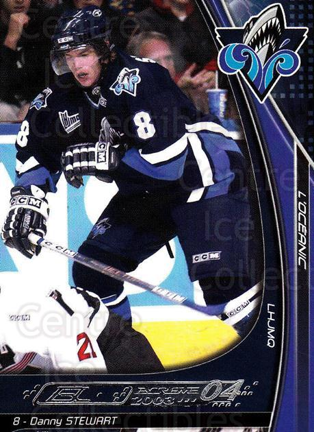 2003-04 Rimouski Oceanic #19 Danny Stewart<br/>2 In Stock - $3.00 each - <a href=https://centericecollectibles.foxycart.com/cart?name=2003-04%20Rimouski%20Oceanic%20%2319%20Danny%20Stewart...&quantity_max=2&price=$3.00&code=509712 class=foxycart> Buy it now! </a>