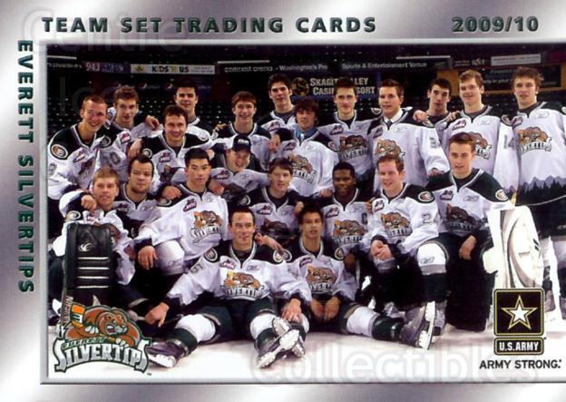 2009-10 Everett Silvertips #1 Everett Silvertips<br/>1 In Stock - $3.00 each - <a href=https://centericecollectibles.foxycart.com/cart?name=2009-10%20Everett%20Silvertips%20%231%20Everett%20Silvert...&price=$3.00&code=509824 class=foxycart> Buy it now! </a>