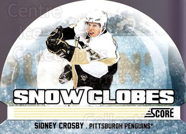 2011-12 Score Snow Globes #2 Sidney Crosby<br/>1 In Stock - $5.00 each - <a href=https://centericecollectibles.foxycart.com/cart?name=2011-12%20Score%20Snow%20Globes%20%232%20Sidney%20Crosby...&price=$5.00&code=510567 class=foxycart> Buy it now! </a>