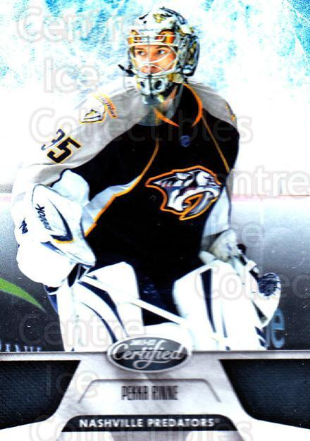 2011-12 Certified #14 Pekka Rinne<br/>5 In Stock - $1.00 each - <a href=https://centericecollectibles.foxycart.com/cart?name=2011-12%20Certified%20%2314%20Pekka%20Rinne...&quantity_max=5&price=$1.00&code=511573 class=foxycart> Buy it now! </a>