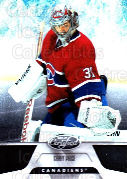 2011-12 Certified #109 Carey Price<br/>1 In Stock - $3.00 each - <a href=https://centericecollectibles.foxycart.com/cart?name=2011-12%20Certified%20%23109%20Carey%20Price...&quantity_max=1&price=$3.00&code=511668 class=foxycart> Buy it now! </a>
