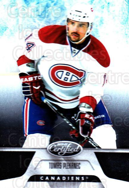 2011-12 Certified #140 Tomas Plekanec<br/>6 In Stock - $1.00 each - <a href=https://centericecollectibles.foxycart.com/cart?name=2011-12%20Certified%20%23140%20Tomas%20Plekanec...&quantity_max=6&price=$1.00&code=511699 class=foxycart> Buy it now! </a>
