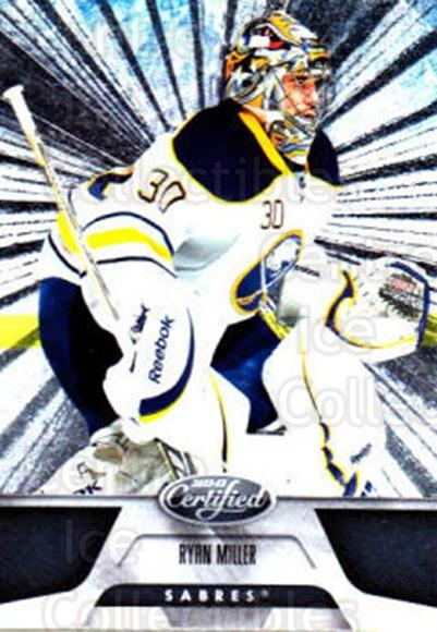 2011-12 Certified Totally Silver #5 Ryan Miller<br/>3 In Stock - $2.00 each - <a href=https://centericecollectibles.foxycart.com/cart?name=2011-12%20Certified%20Totally%20Silver%20%235%20Ryan%20Miller...&quantity_max=3&price=$2.00&code=511832 class=foxycart> Buy it now! </a>